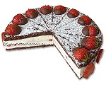 Erdbeer-Schokoladen-Quarktorte