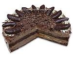 Bananen-Schokoladentorte