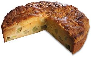 mandel-rhabarberkuchen
