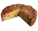 Mandel-Rhabarber-Kuchen