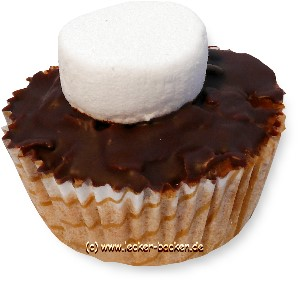 marshmallow-muffins
