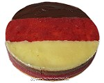 Deutschlandtorte (Erdbeer-Schokoladenmousse-Torte)