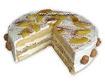 Cremige Apfel-Tiramisu-Torte