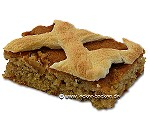Walnuss-Apfelkuchen mit Baiser